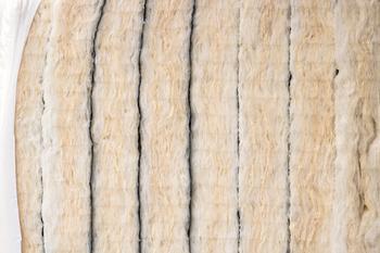 Panneaux de laine de verre