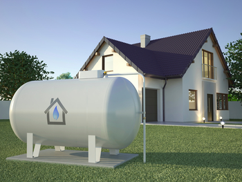 Citerne gaz jardin