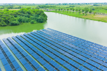 panneaux solaires flottants 350